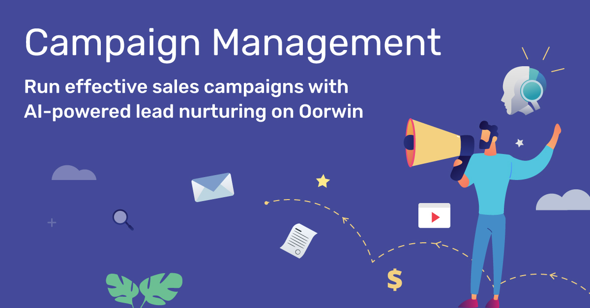 Campaign Management with Oorwin CRM